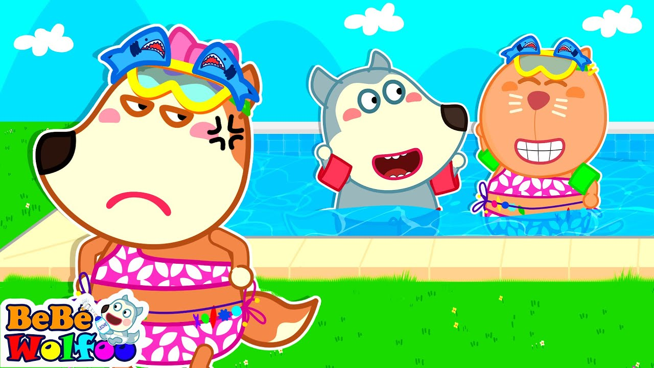 ¡No te Enojes, Lucy! Wolfoo elige nuevo traje de baño para Lucy | Videos Para Niños | Bebé Wolfoo
