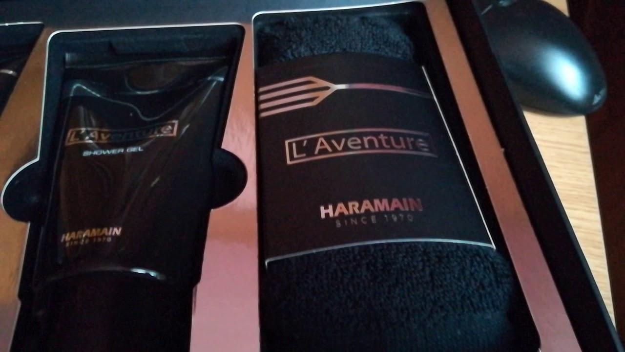 Al Haramain Laventure Gift Set Youtube