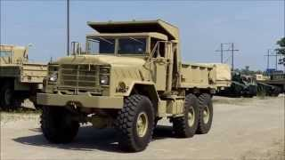 M929A1 6x6 5 Ton Military Vehicle AM General Army Dump Truck