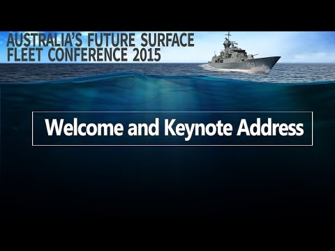 Future Surface Fleet 2015 - Welcome and Keynote Address