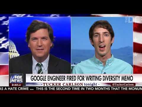 Tucker Carlson Interviews Fired Google Engineer James Damore