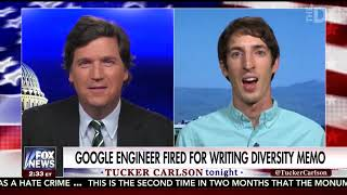 Tucker Carlson Interviews Fired Google Engineer James Damore