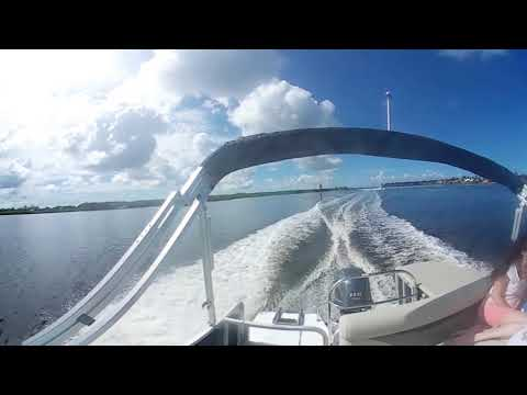 Hurricane FunDeck 196 F 360 VR Test Ride