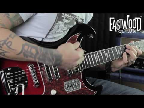 Eastwood SD 40 Hound Dog Guitar - RJ Ronquillo