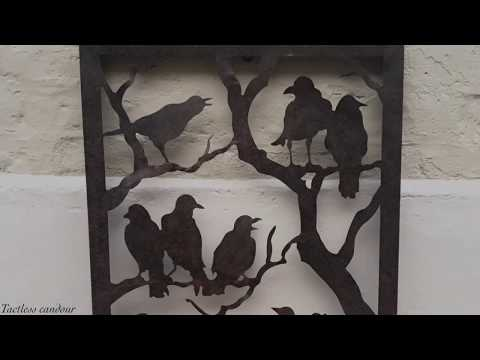 Night of the Ravens Metal Wall Sculpture — Design Toscano
