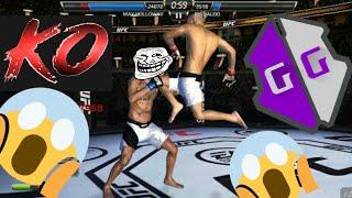 UFC Mobile GOD Mode Hack / Game Gardian