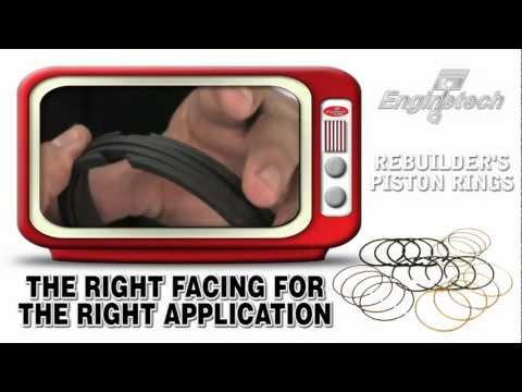 Piston Ring Sets - Enginetech