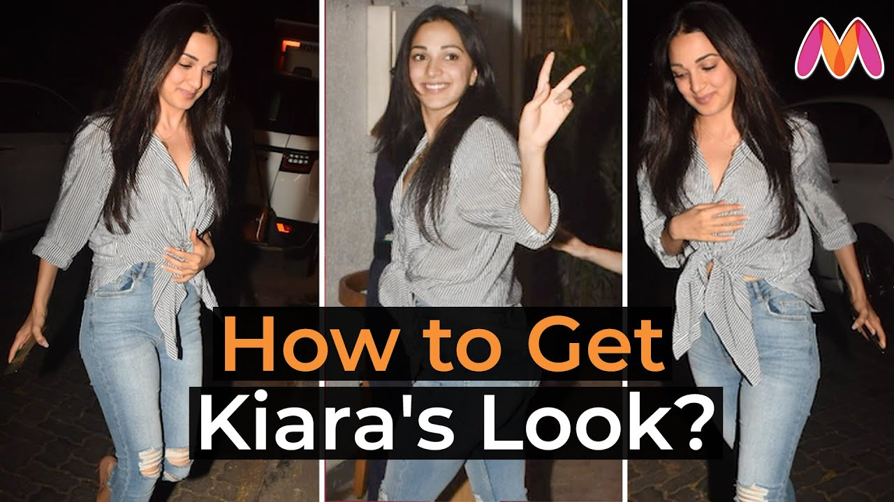 How To Get Kiara Advani's #ShirtAndJeans Look? | B'town Style Under 3 Minutes | Myntra