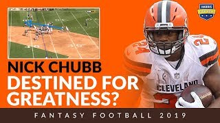 Is Nick Chubb Destined For Fantasy Football Greatness?