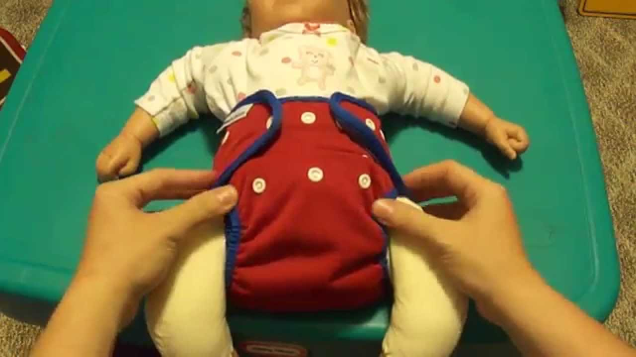 How to get a good fit using Best Bottom cloth diaper--- How to properly put  on a cloth diaper