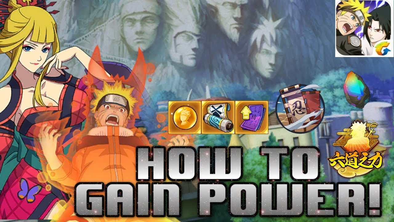 Naruto Online Mobile : How To Increase Your Power! (Power Guide)