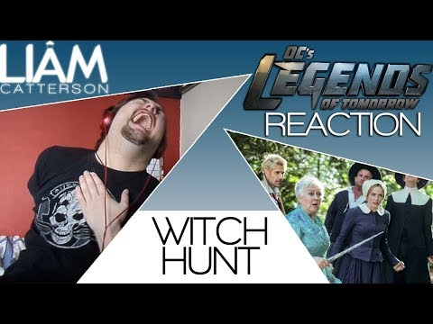 Legends of Tomorrow 4x02: Witch Hunt Reaction