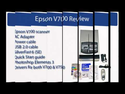 Epson V700 - Perfection Photo Support and Manuals