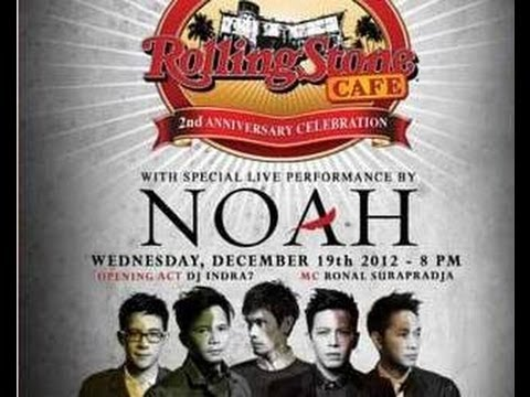 Cover Lagu Noah - Live At Rolling Stone Cafe Indonesia