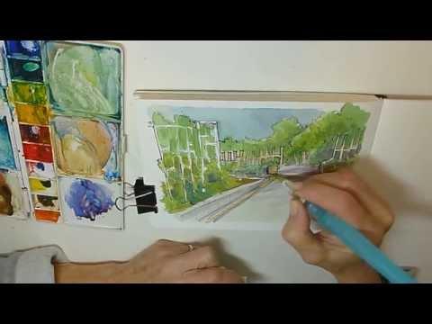 Watercolor Sketching & Journaling - Part 3 - Gay Kraeger