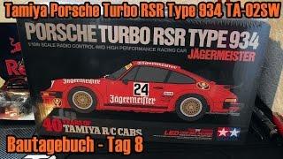tamiya porsche turbo rsr type 934 ta 02sw bautagebuch tag 8