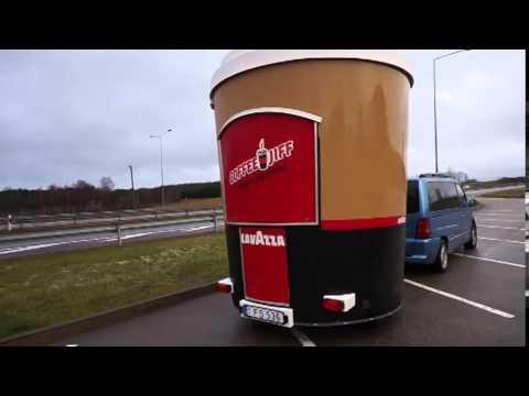 Coffee Bar Trailer Cup For Sale UK England Trikeida
