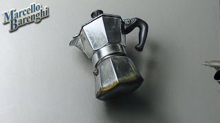 How to draw a Moka pot 3D - Time Lapse Drawing
