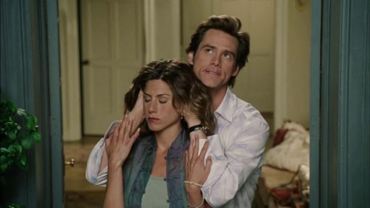 Funniest Love Making Scene Jennifer Aniston Jim Carrey Bruce Almighty Youtube