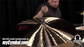 "Paiste 22"" 2002 Crash Cymbal - Played by Abe Laboriel Jr. (1061422-1052413B)"