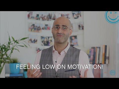 Feeling low on motivation!