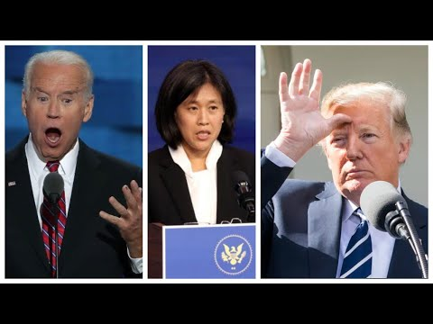 Biden's NEW Trade Representative AGREES with TRUMP! Tariffs on China will Remain in Effect!