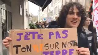 La Rochelle : la jeunesse marche pour le climat
