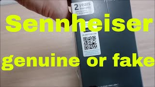 How to check my Sennheiser is genuine or fake counterfeit using Sennheiser Authentication Page