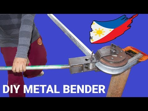Diy Adjustable Bender for Square Tubing and Steel Pipe