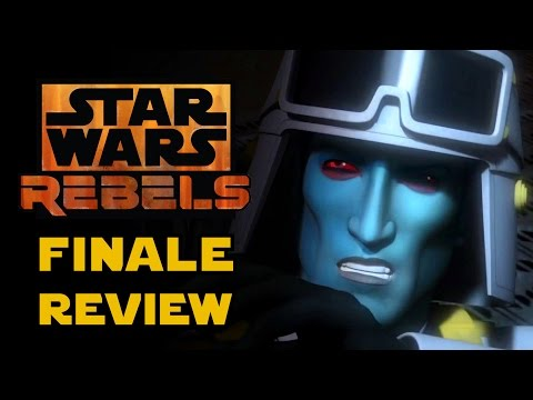 Star Wars Rebels Season 3 Finale - Zero Hour Episode Review