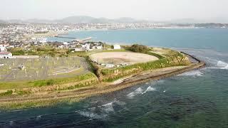 【MavicPro】山口県下関市安岡海岸