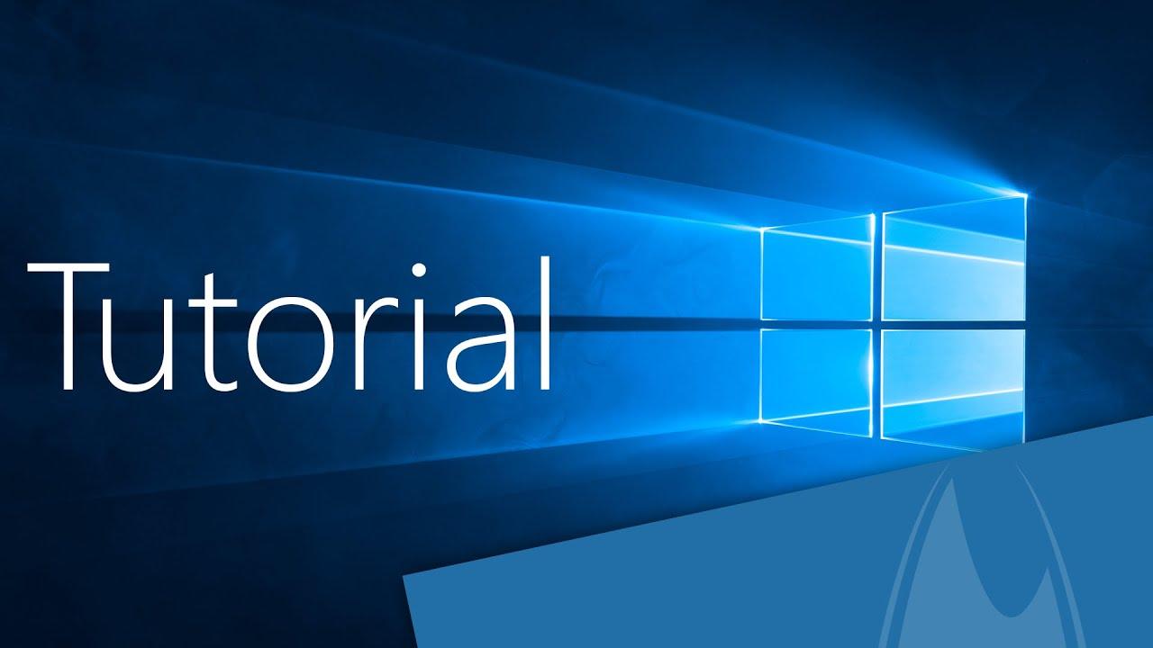 Windows 10 Tutorial  Deutsch  German