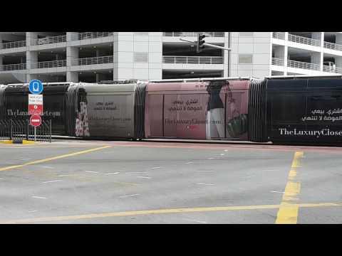 Arabian Outdoor - Dubai Trams Branding, The luxury Closet Campaign