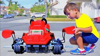 Senya تقوم بتجميع سيارة جديدة وروبوت!