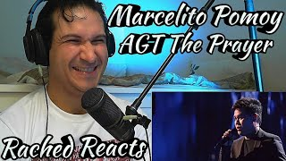 Coach Reaction - Marcelito Pomoy - America's Got Talent - The Prayer