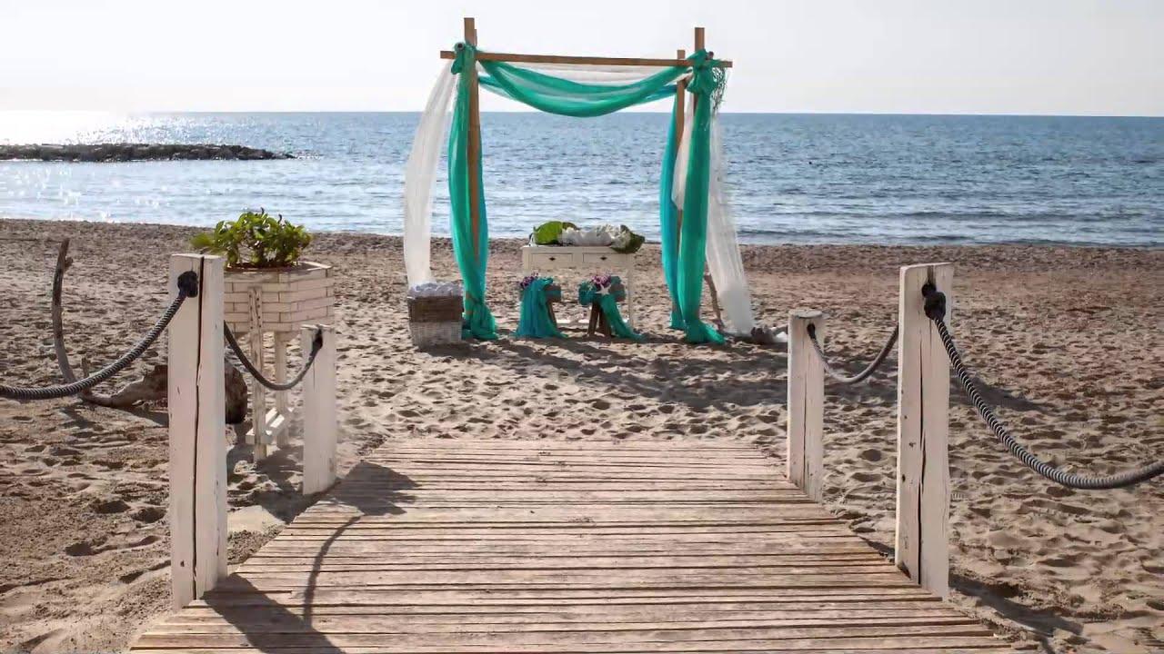 Matrimonio Spiaggia Anzio : T village matrimonio in spiaggia youtube
