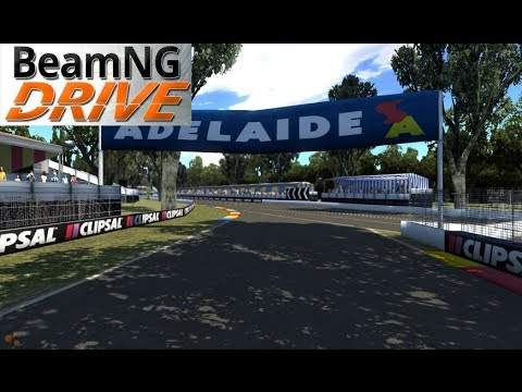 BeamNG DRIVE mod map Adelaide GP V2