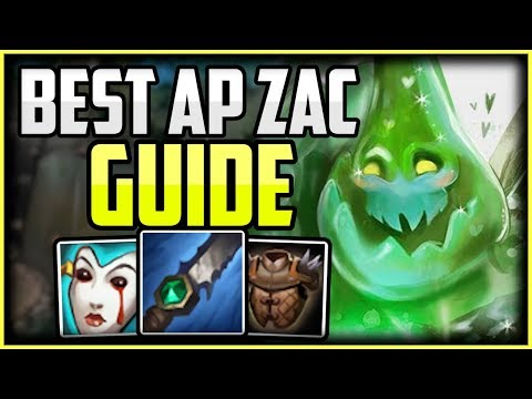 AP ZAC JUNGLE OP - How To Play AP Zac Jungle Guide - Unranked To Challenger Episode 4