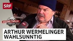 Arthur Wermelinger zu den Wahlen   Giacobbo / Müller   SRF Comedy