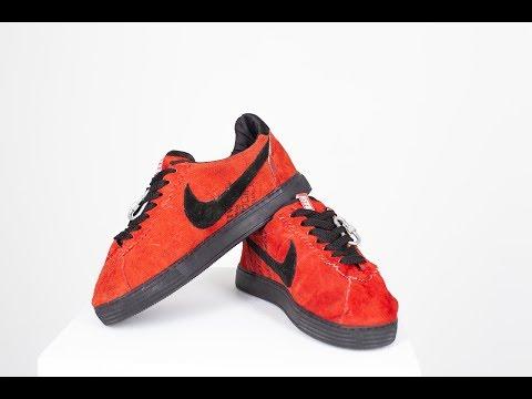 КРОССОВКИ СВОИМИ РУКАМИ | Nike Cortez DIY| Паль своими руками?!!!......