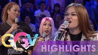 GGV: Janine Berdin fights with Vice and Negi
