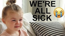 DAY IN THE LIFE WITH 2 SICK BABIES :(   Infant + Toddler   Tara Henderson