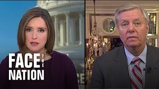 """Graham: Trump made """"persuasive case"""" for national emergency"""
