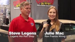 Meet Steve Legens of Legens Hot Rod Shop at SEMA 2016!