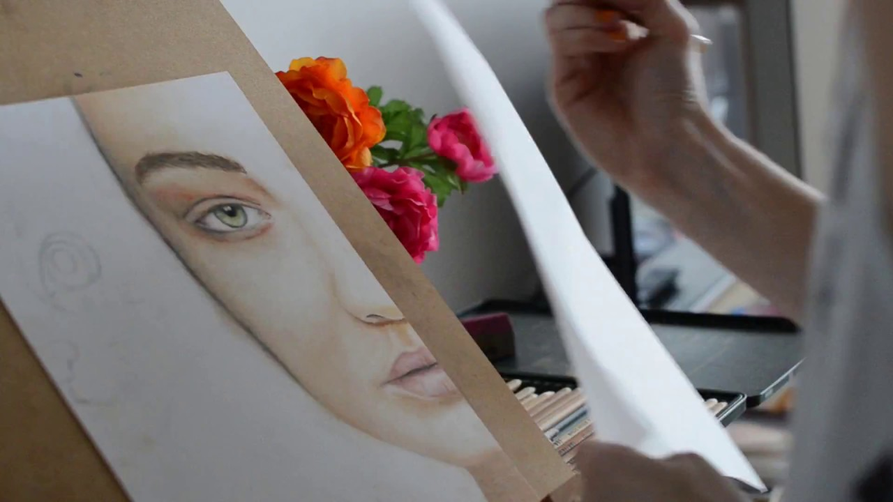 pastel pencils tips for beginners youtube