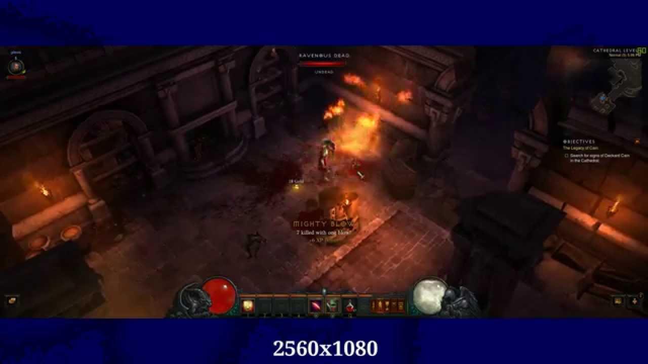 Diablo 3 2560x1080 (21:9 Aspect)