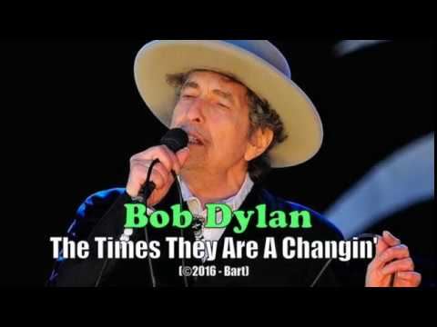 Bob Dylan - The Times They Are A Changin' (Karaoke)