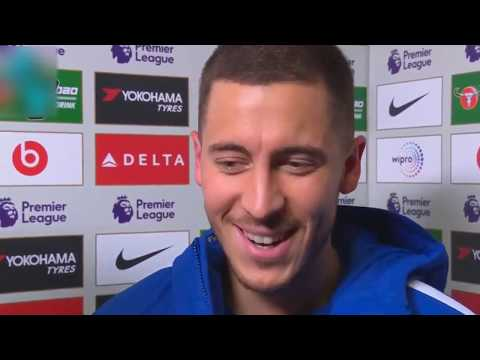 Eden Hazard & Fabregas interview¦ Chelsea vs Newcastle united 3-1 Post match¦Premier league