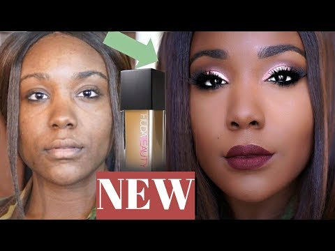 Glam Makeup Tutorial for Black Women