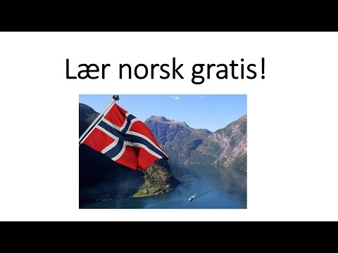 Video 275 Lær norsk gratis! Nettsider og apper
